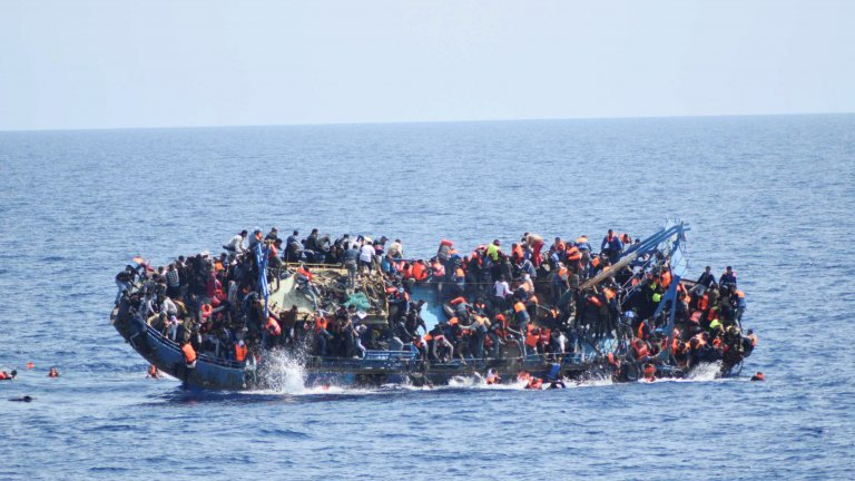The Mediterranean is a popular route for refugees who want to cross over from Africa to Europe