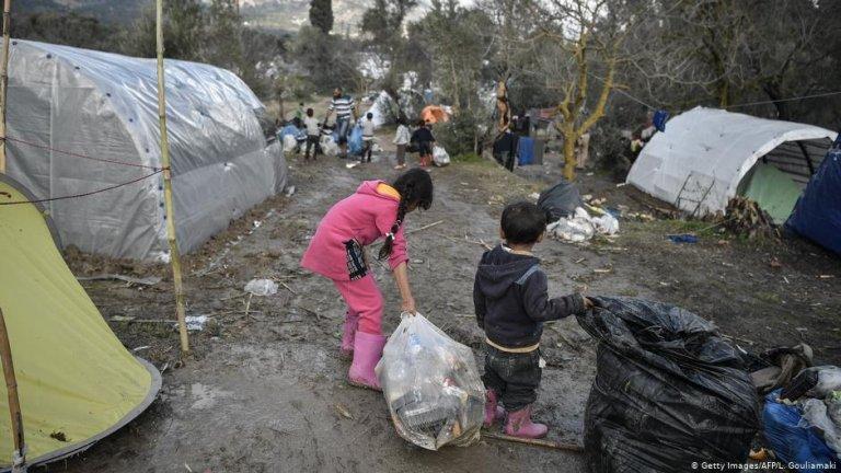 یک سازمان خیریه آلمانی می خواهد که به وضعیت پناهجویان در یونان رسیدگی جدی صورت بگیرد.