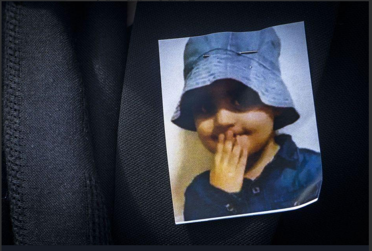 A screenshot from Twitter of Mawda who was two years old when she was killed in Belgium | Source: Twitter screenshot