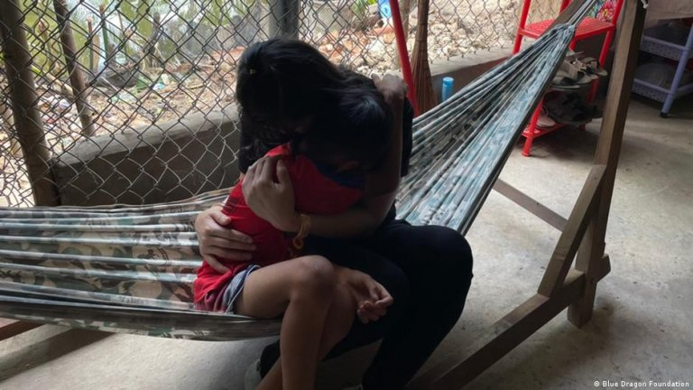 The Hanoi-based Blue Dragon Foundation rescued 14-year-old Kim from sexual exploitation in northern Vietnam   Photo: Blue Dragon Foundation