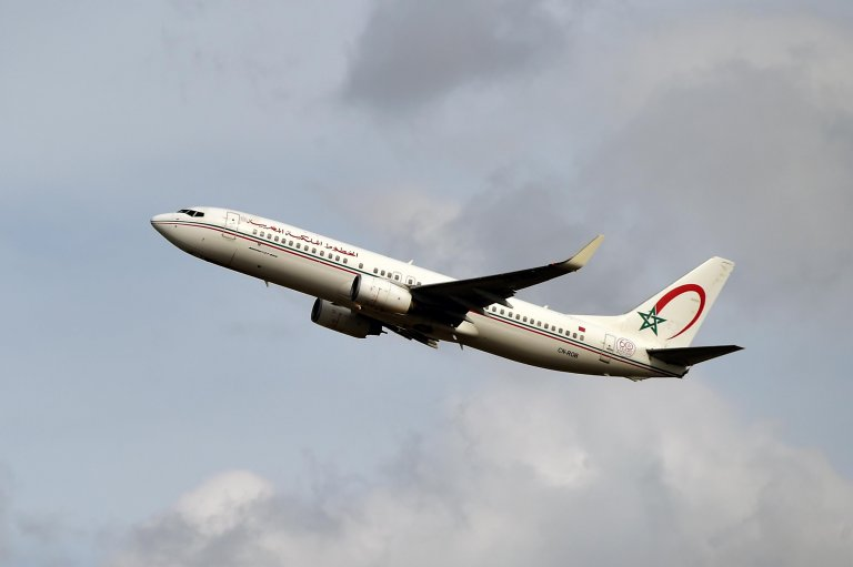 طائرة تابعة للخطوط الجوية الملكية المغربية. أرشيف
