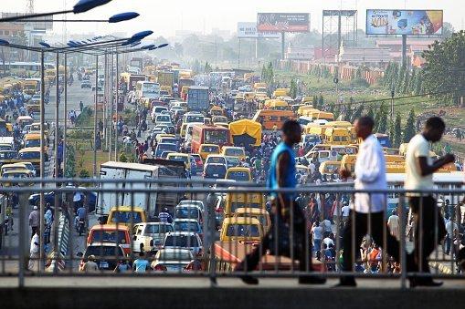 La ville de Lagos au Nigeria. Crédits : Reuters