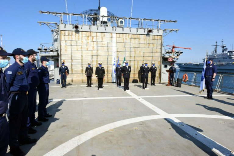 Operation Irini in the Mediterranean just completed its first year. So far it has carried out no migrant rescue missions | Photo: EUNAVFOR MED Operation Irini