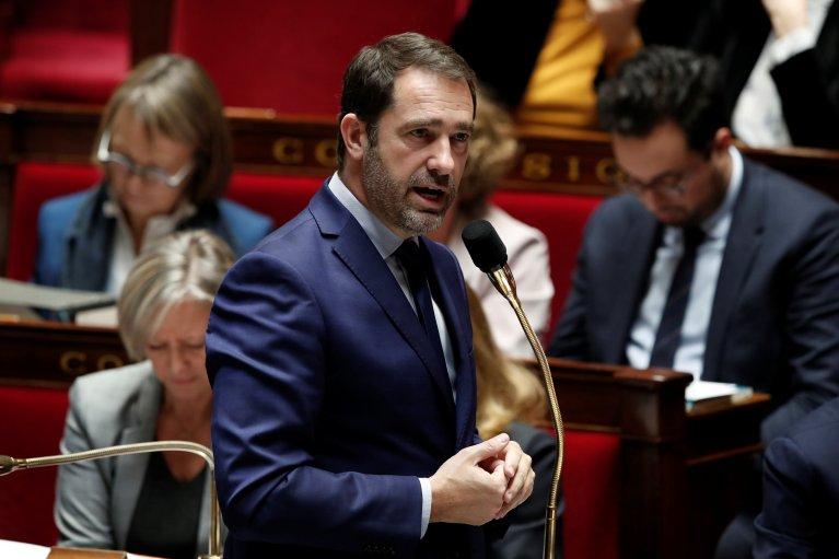 """زعيم الحزب الفرنسي الحاكم """"حركة إلى الأمام"""" كريستوف كاستنير / رويترز"""