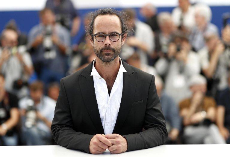 Cdedric Herrou at the Cannes Film Festival 2018