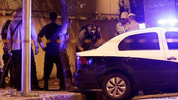 عکس از آرشیف دویچه وله/ پولیس برازیل می گوید که یک قاچاقبر مهم را بازداشت کرده است.