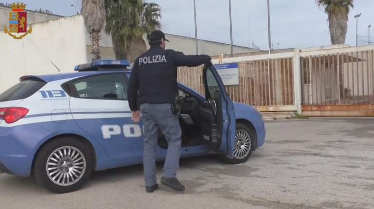 Archive photo: A police officer in Italy   Photo: ANSA/UFFICIO STAMPA POLIZIA DI STATO