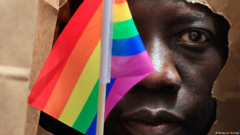 Many other gay people across Africa have to hide their sexuality   Photo: Reuters/J.Rinaldi