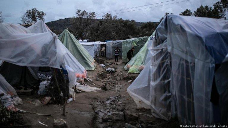مخيم فيال في جزيرة كيوس اليونانية. المصدر: أليانس بيكتشرز