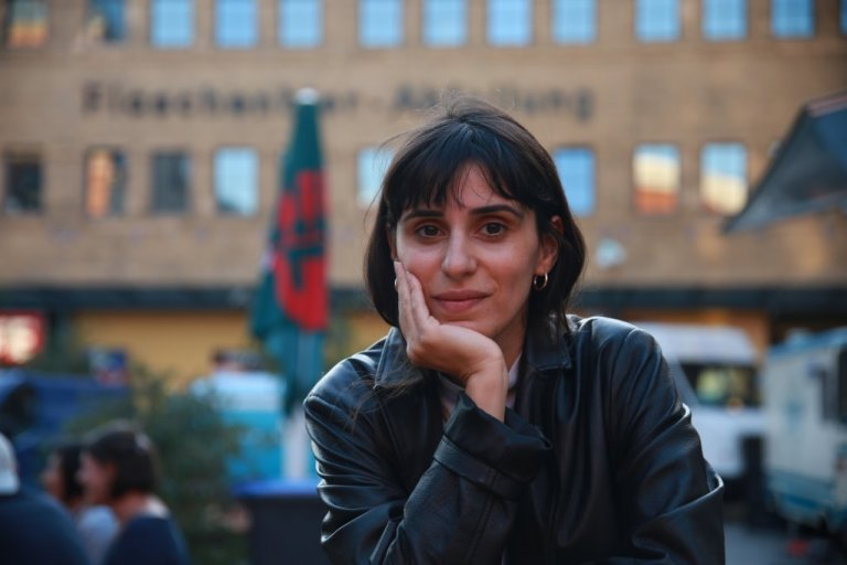 Maryam Zaree à Berlin | Photo : Ignacio Pereyra