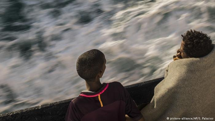 Migrants attmpting to reach Europe by boat