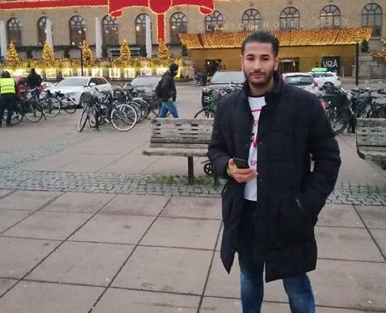 محمد السويركي. الصورة أرسلها لنا صاحب الشهادة