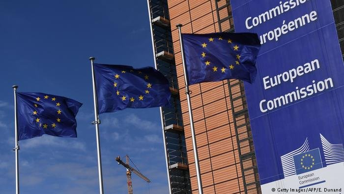 مقر کمیسیون اتحادیه اروپا در شهر بروکسل در بلجیم