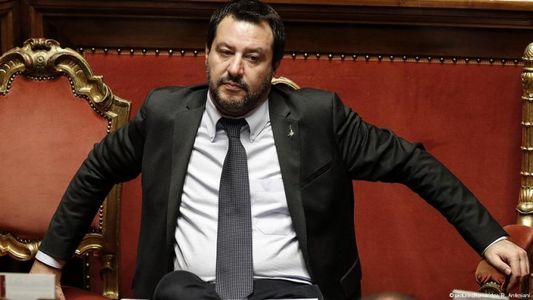 Italian Interior Minister Matteo Salvini | Photo: Picture-alliance/R.Antimiani
