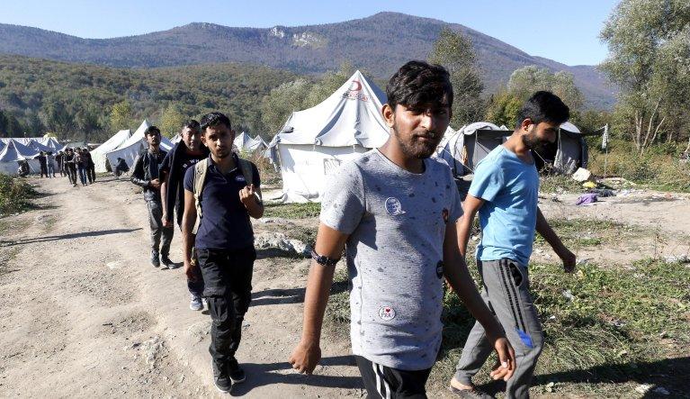 Migrants in Bihac, Bosnia | Photo: Fehim Demir/STF