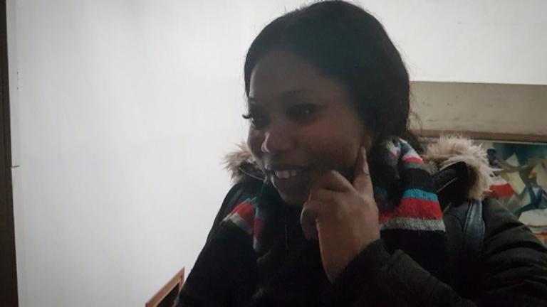 النيجيرية لوفيث آيبانغبي ضحية عصابات الإتجار بالبشر وشبكات الدعارة في باريس. شريف بيبي