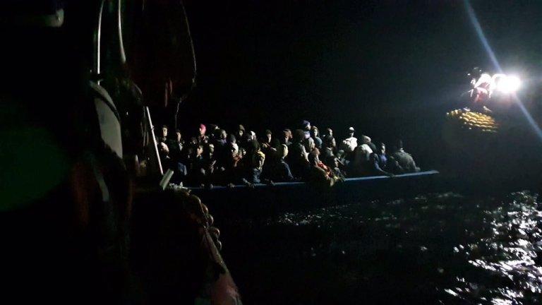 Un sauvetage mené par SOS Méditerranée en novembre. Photo : SOS Mediterranee/Twitter