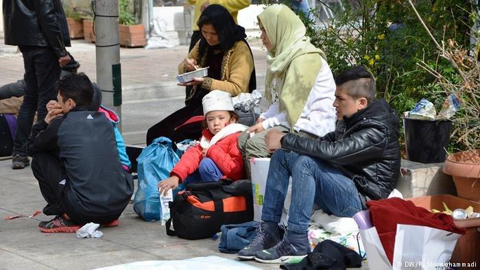 Afghan migrants in Germany