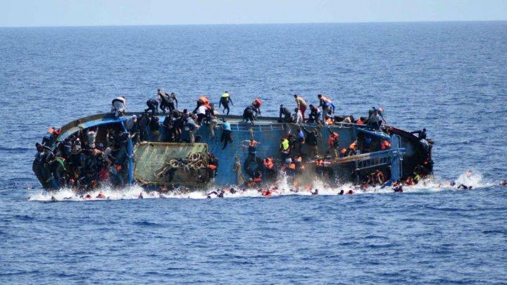 أ ف ب/ أرشيف  غرق مركب للمهاجرين، 2016