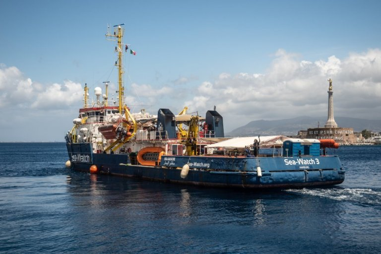 کشتی سی واچ ۳ روز شنبه ۶ جون ۲۰۲۰ بار دیگر راه مدیترانه را در پیش گرفت