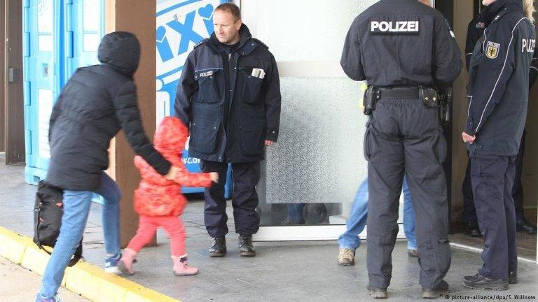 پناهجویان رد شده در شهر لایپزیگ آلمان