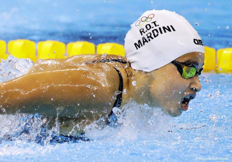اللاجئة السورية في ألمانيا السباحة الأولمبية يسرى مارديني