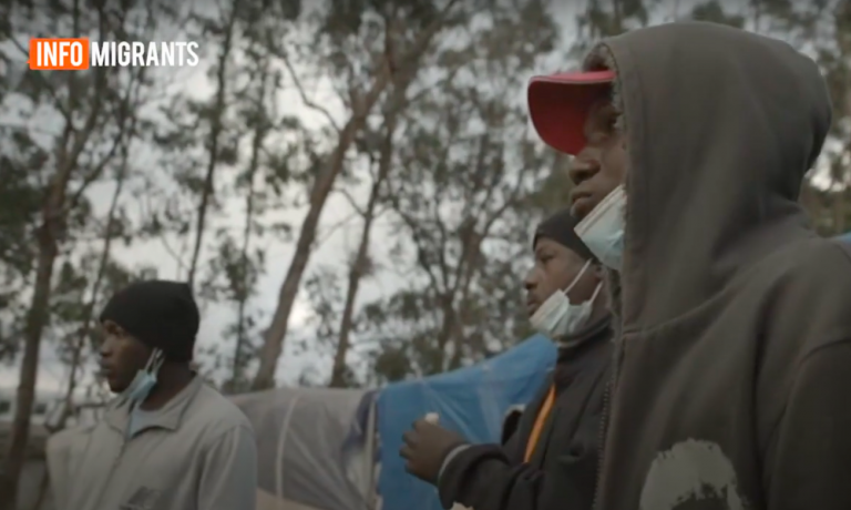 """""""The cold is extreme here,"""" one migrant said. """"There are 24 people to a tent. It is horrible."""""""