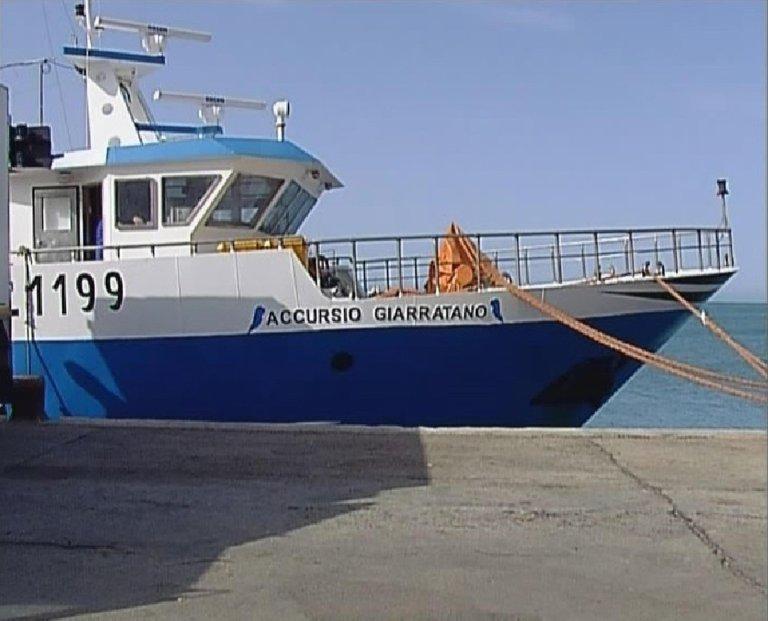 The Accursio Giarratano motorized fishing boat form Sicily | PHOTO: ANSA