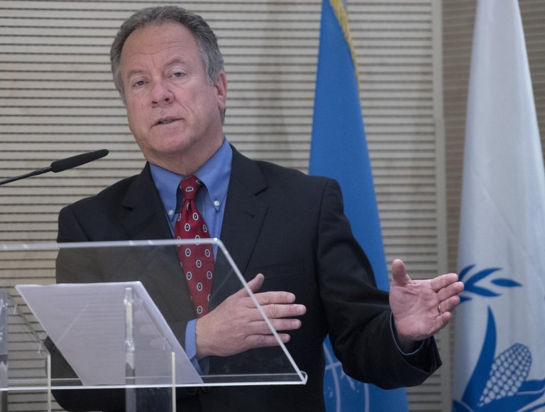 WFP chief David Beasley