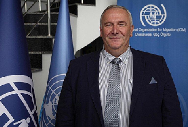 Lado Gvilava, head of the International Organization for Migration (IOM) in Turkey. CREDIT: IOM