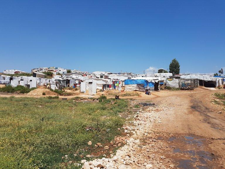 مخيم مرج الخوخ في لبنان/ شريف بيبي