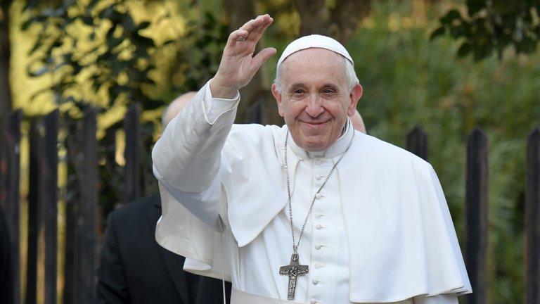 البابا فرنسيس ( أ ف ب)