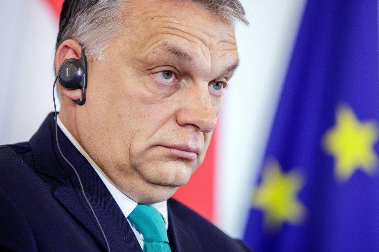 Hungarian Premier, Viktor Orban. Credit: EPA/LISI NIESNER