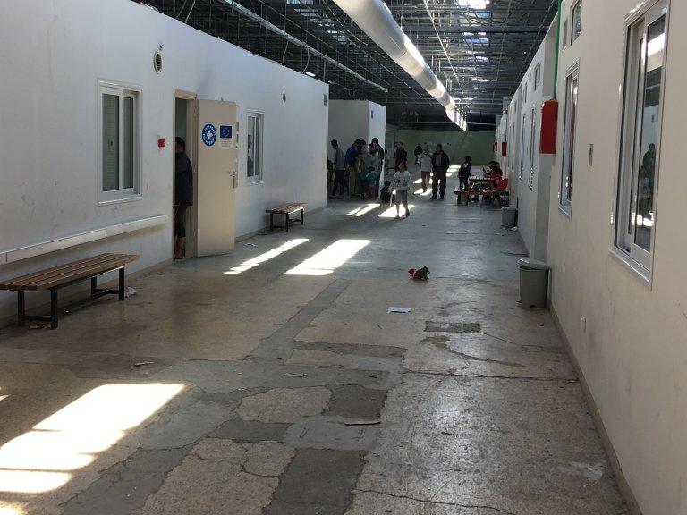 Refugee Center in Greece