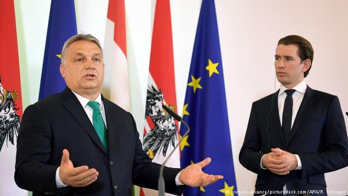 Victor Orban and Sebastian Kurz
