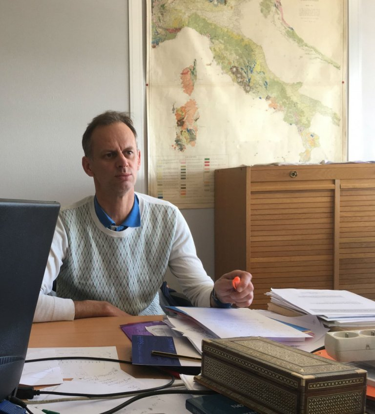 Pierre-Alain Mannoni à Nice, en 2017. Crédit : InfoMigrants