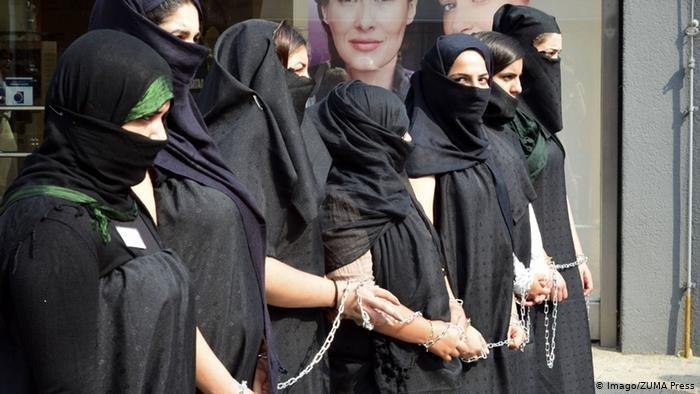 Imago/ZUMA Press |شكل تضامني مع الإيزيديات
