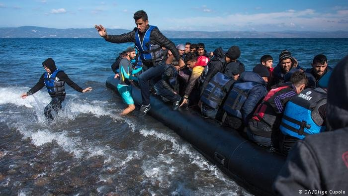 The numbers of asylum seekers across Europe were down in 2018 compared to previous years | Photo: DW Diego Cupolo
