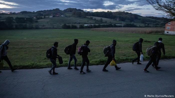 The investigation endorses the accounts of asylum seekers saying they have been beaten by masked men during pushbacks | Marko Djurica / Reuters