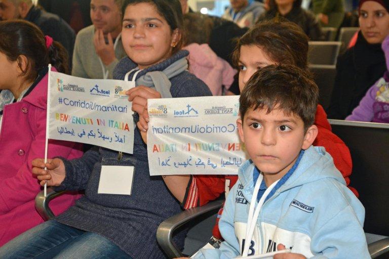 ansa / إيطاليا: وصول 30 مهاجرا سوريا إلى روما عبر الممرات الإنسانية