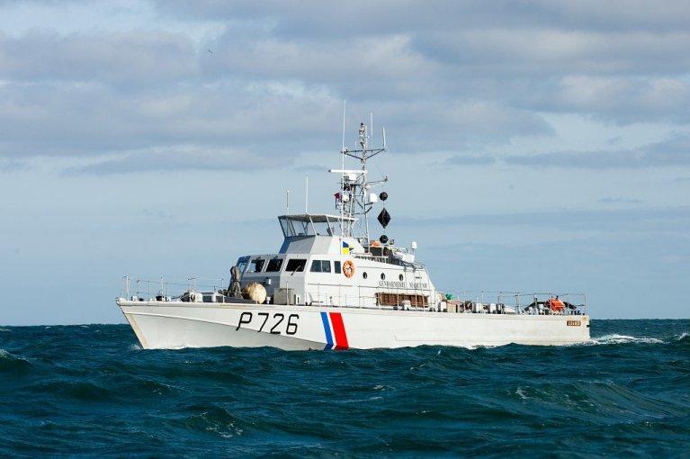 یک کشتی پولیس دریایی فرانسه. عکس از صفحه رسمی پولیس دریایی