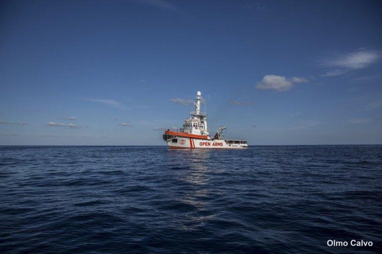 عکس آرشیف: کشتی اوپن آرمز در مدیترانه. عکس از سازمان اوپن آرمز