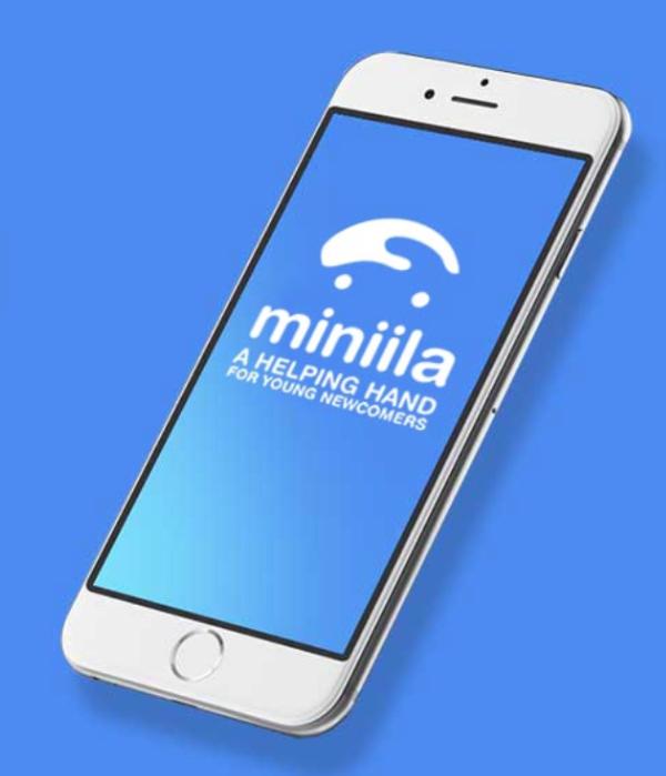 """L'application """"Miniila"""" permet aux mineurs isolés d'avoir des informations fiables. Capture d'écran"""