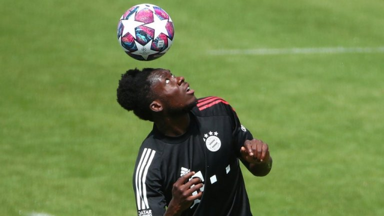 The defender Alphonso Davies is one of the stars of Bayern Munich football club | Photo: Reuters / Michael Dalder
