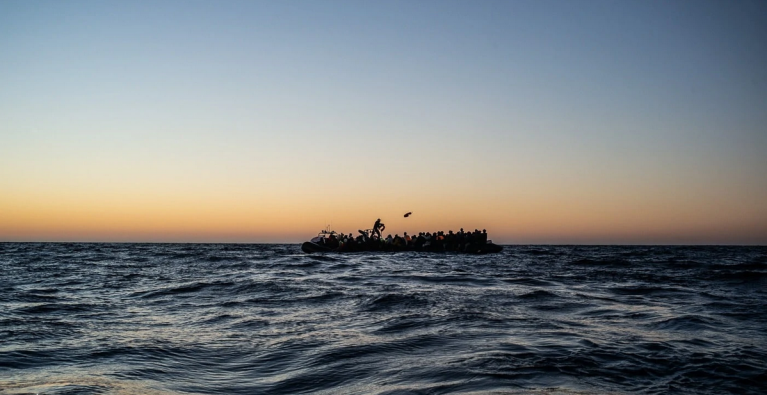 The Central Mediterranean has claimed over 1,000 lives this year alone, according to the IOM   Source: Hippolyte/SOS MEDITERRANEE