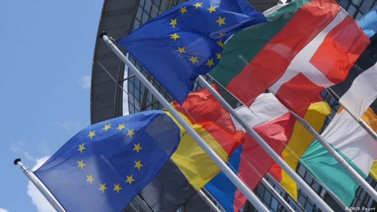 بیرق های شماری از کشورهای عضو اتحادیه اروپا