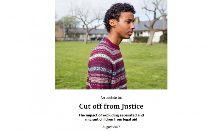 "report ""Cut off from Justice"" finds migrant children in the UK lack legal supportreport ""Cut off from Justice"" finds migrant children in the UK lack legal support"