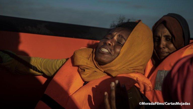 """ansa / لقطات من فيلم """"رسائل مبللة"""" المصدر: معهد """"السينما والفنون البصرية""""."""