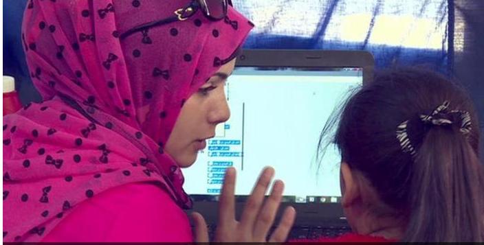 refugee code week in Jordan