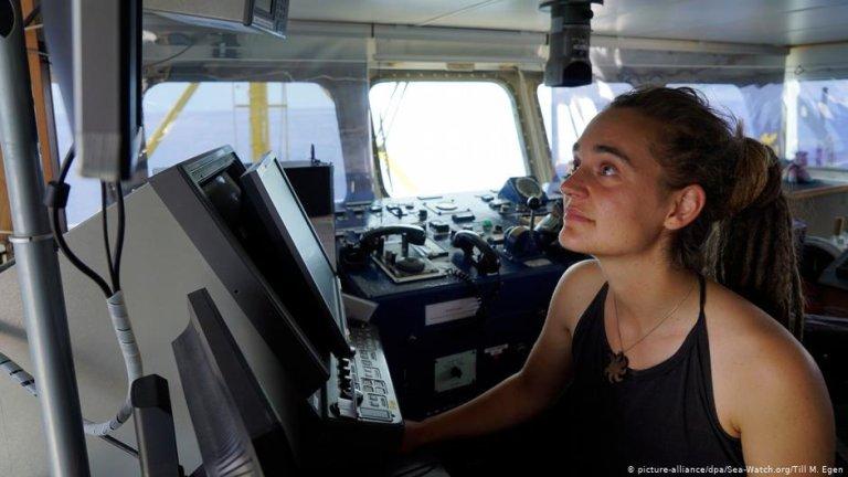 Sea-Watch Captain Carola Rackete | Photo: Picture-alliance/dpa/Sea-Watch.org/Till M. Egen